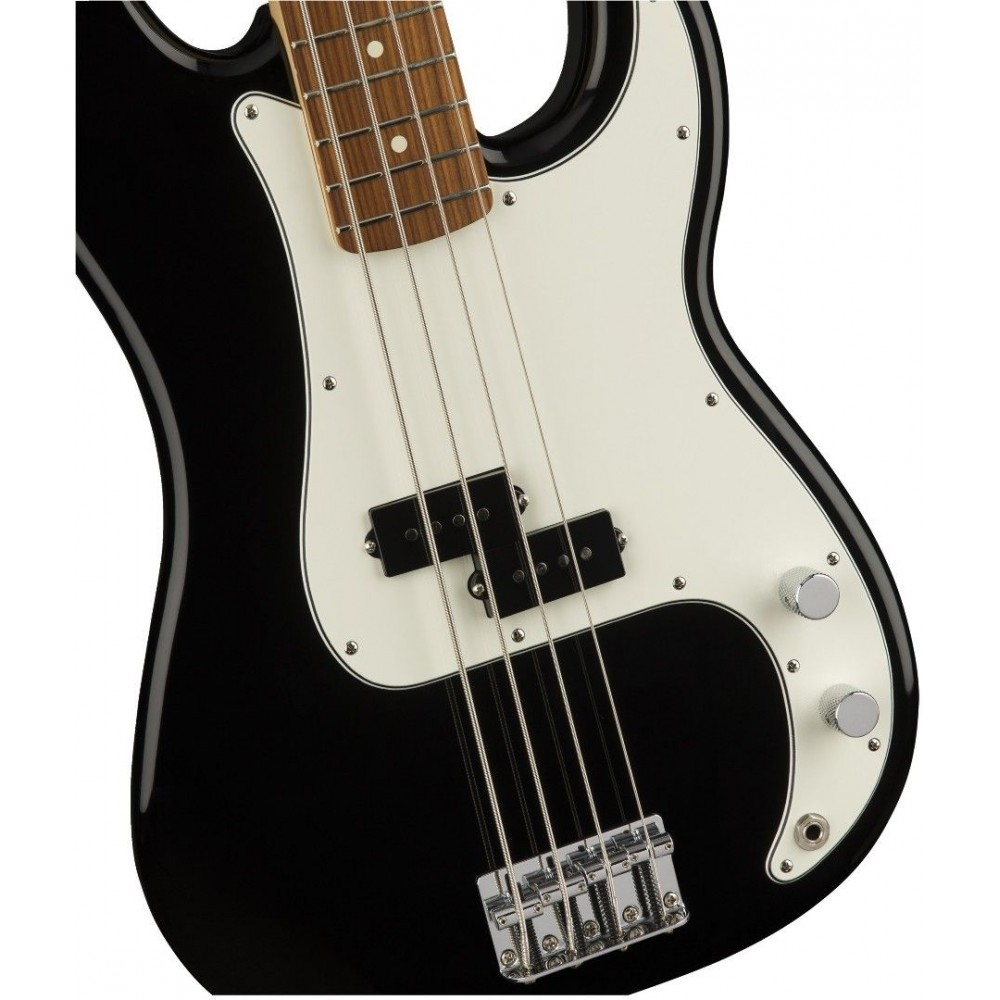 fender standard precision bass guitar pau ferro fretboard black sight sound music. Black Bedroom Furniture Sets. Home Design Ideas