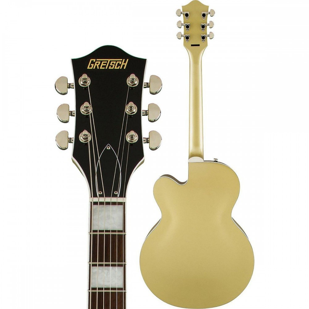 gretsch g2420t streamliner hollow body single cut electric guitar golddust w bigsby sight. Black Bedroom Furniture Sets. Home Design Ideas