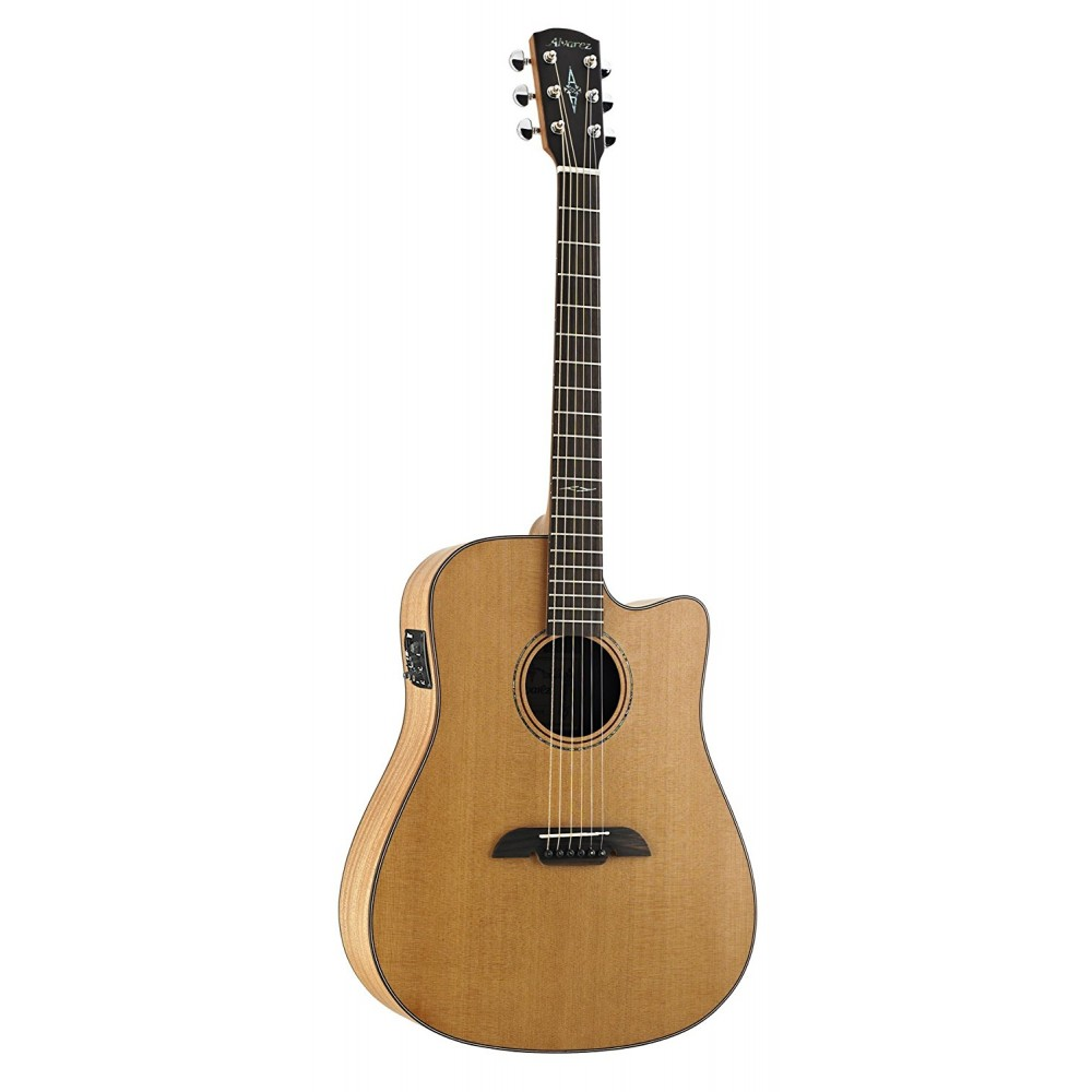alvarez md65ce acoustic electric guitar natural finish with case sight sound music. Black Bedroom Furniture Sets. Home Design Ideas