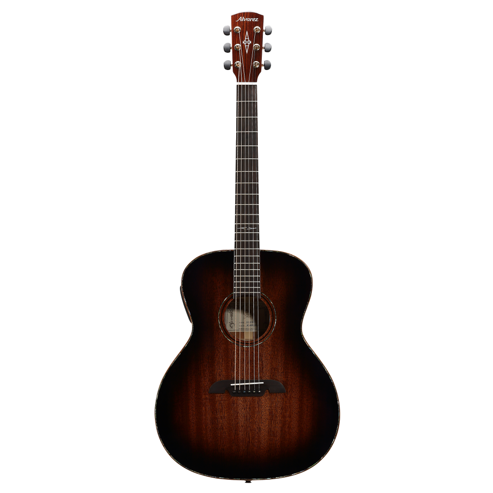 Alvarez Acoustic Electric Guitar : alvarez mga66eshb acoustic electric guitar in shadowburst with case sight sound music ~ Vivirlamusica.com Haus und Dekorationen