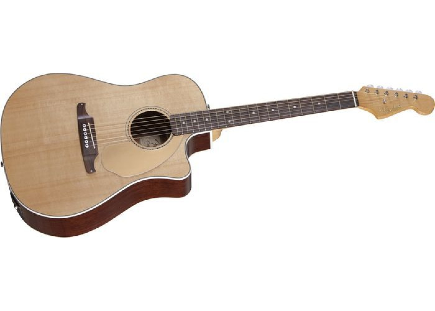 fender sonoran california series solid top electric acoustic guitar sight sound music. Black Bedroom Furniture Sets. Home Design Ideas