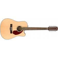 Fender CD140SCE 12-String Acoustic Electric Natural Finish