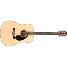 Fender  CD60S  Acoustic  Guitar  Natural  Finish
