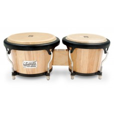 Toca Players 2400 Series Bongos Natural Wood Finish