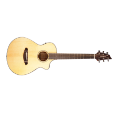 Breedlove Discovery Companion Cutaway Acoustic Electric Guitar Sitka-Mahoga