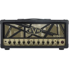 EVH 5150 III 50 Watt EL34 Guitar Amplifier Head Black and Gold