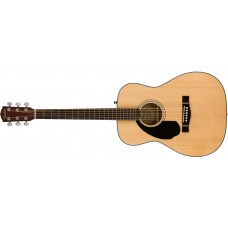 Fender  CC60S Acoustic Guitar Left Handed Natural with Walnut Fretboard