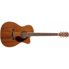 Fender PM-3 Triple-0 All Mahogany Acoustic Guitar Natural Finish With Case