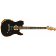 Fender  American Acoustasonic Telecaster Black with Bag