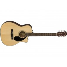 Fender CC60-SCE Acoustic Electric Guitar Natural