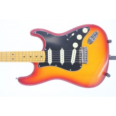 Open Box - Fender Rarities Flame Ash Top Stratocaster Plasma Red Burst Seri