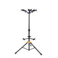 Hercules GS432B Plus Series Universal AutoGrip Tri Guitar Stand with Foldab