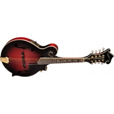 Washburn M3SWETWRK  F-Style Acoustic Electric Mandolin Trans Wine Red