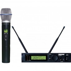Rental- Shure ULX Professional UHF Wireless Hand Held System
