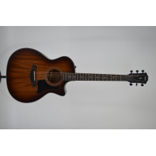 Taylor 324CE Grand Auditorium Acoustic Electric Cutaway Mahogany Top with H