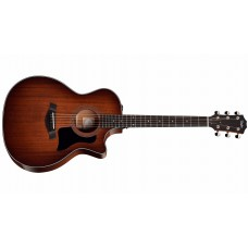 Taylor 324CE Grand Auditorium Acoustic Electric Cutaway Guitar Mahogany Top