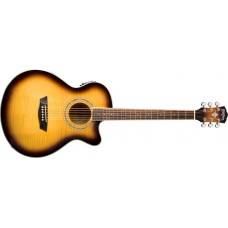 Open Box - Washburn EA15ATB Electric Acoustic Guitar