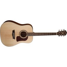 Open Box - Washburn HD10S-O Heritage Series Dreadnought Solid Sitka Spruse