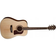 Washburn HD10S-O Heritage Dreadnought Solid Sitka Spruse top