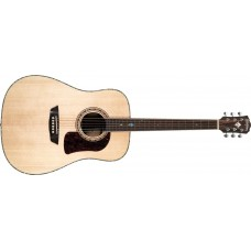 Washburn HD80S-L-U  Heritage Elite Solid Spruce Top Striped Ebony Back