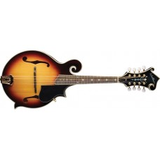 Washburn M3SWK-D F-Style Mandolin Carved Solid Sitka Spruce Top with Flamed