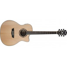 Washburn Apprentice AG70CEK-A Spruce Walnut with Barcus Berry EQ with case