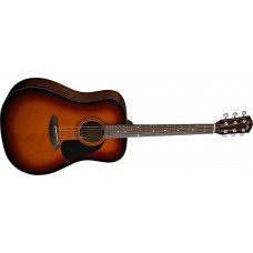 Fender CD60 Acoustic Guitar Sunburst with Fender Hard Case