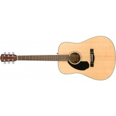 Fender  CD60S  Acoustic  Guitar  Left  Handed  Natural  Finish