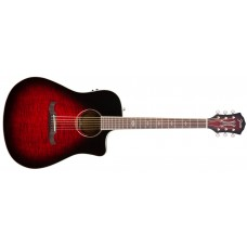 Fender  T-Bucket  300-CE  Flame  Maple  Top  Acoustic  Electric  Guitar  Tr