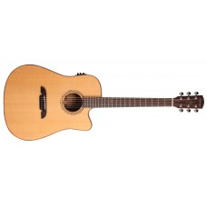 Alvarez  MD60CE  Acoustic  Electric  Guitar  Natural  Finish  with  Case