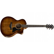 Taylor 224CE-K-DLX Grand Auditorium Electric Acoustic Guitar Solid Koa Top