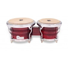 Toca Elite Pro 3170 Wood Bongos Crimson Maple Fade