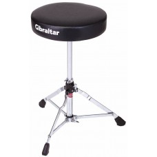 Gibraltar  5000  Series  Double  Braced  Drum  Throne  With  Round  Style