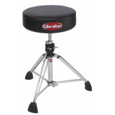 Gibraltar  9608  Heavy  Duty  Professional  Throne-  Round  Vinyl  Seat