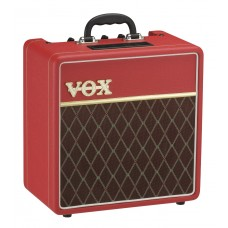 Vox AC4C1RD Classic Red Custom Series Top Boost Tube Guitar Amplifier