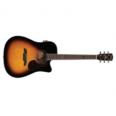 Alvarez  AD60CESB  Acoustic  Electric  Guitar  Sunburst  Finish