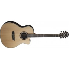 Washburn  AG20CEK  Grand  Auditorium  Acoustic  Electric  Cutaway  Select