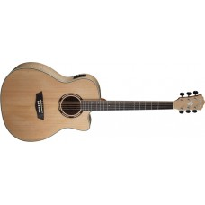 Open Box - Washburn  AG40CEK  Grand  Auditorium  Acoustic  Electric  Cutawa