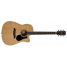 Alvarez  AD60CE  Acoustic  Electric  Guitar  Natural  Finish