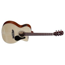 Alvarez RF26CE Acoustic Electric Guitar Natural Finish with Deluxe Gigbag