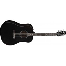 Fender CD60S 6 String Acoustic Laurel Fret Board Black