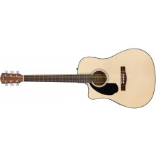 Fender  CD60SCE  Acoustic  Guitar  Left  Handed  Natural  Finish