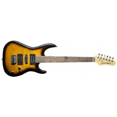 Rental - Castlerock EG-JS50 Electric Guitar HSH Flamed Yellow B-Stock