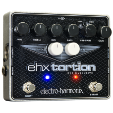 Electro Harmonix EHX TORTION JFET Based  Overdrive Pedal