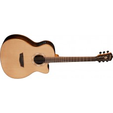 Washburn WLG26SCE Woodline Solid Cedar Top Rosewood Back and Sides Grand Au