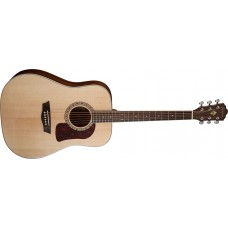 Washburn HD10S Heritage Series Dreadnought Solid Spruce Top