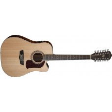 Washburn HD10SCE12 Heritage Series 12 String Dreadnought Cutaway Electric G