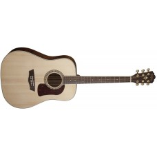 Washburn HD30S Heritage Acoustic Solid Spruce Top with Tamo Ash Back and Si