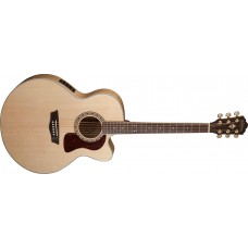 Open Box - Washburn HJ40SCE Heritage Jumbo Acoustic Electric Solid Spruce T