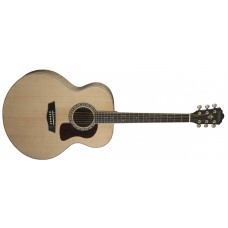 Washburn HJ40S Heritage Acoustic Solid Spruce Top Jumbo Acoustic Guitar